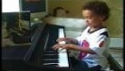 7 year old Grant plays 'Pink Panther'
