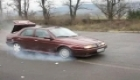 Alfa Romeo 155 BURNOUT 3