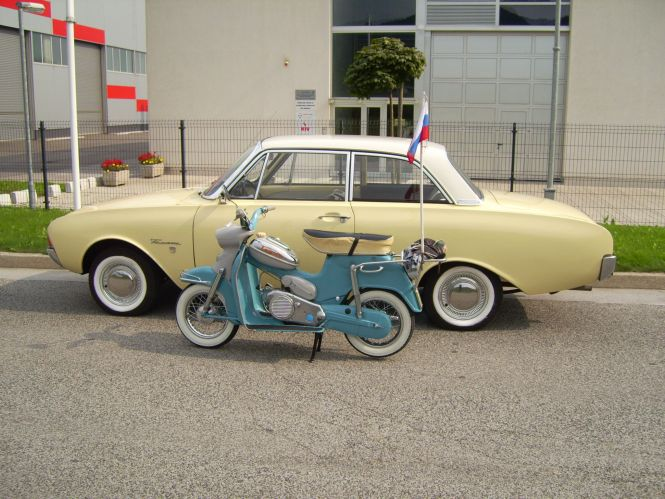 FORD IN Tomos-MOSCO,l.1960