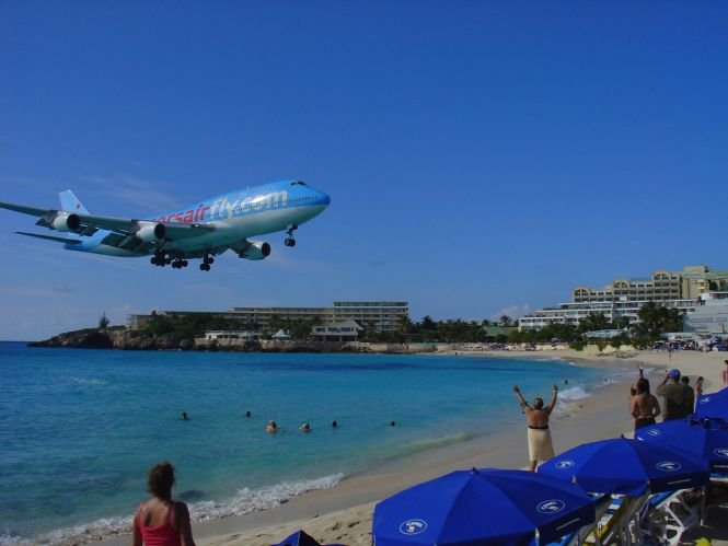 Puzzle - Boeing 747 na St. Martin