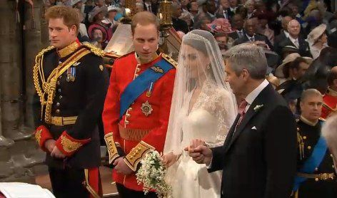 William in Kate