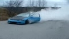 HONDA CIVIC BURNOUT