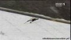 lindstroem in planica 232.50 m fall down