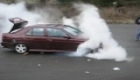 Alfa Romeo 155 BURNOUT 2