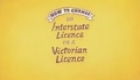 Change an interstate licence to a Victorian licence