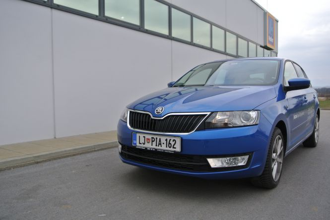 Škoda Rapid Spaceback 1,6 TDI