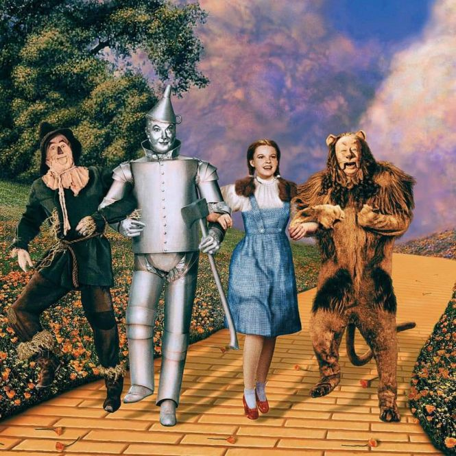 The Wizard of Oz = the Crown Temple.