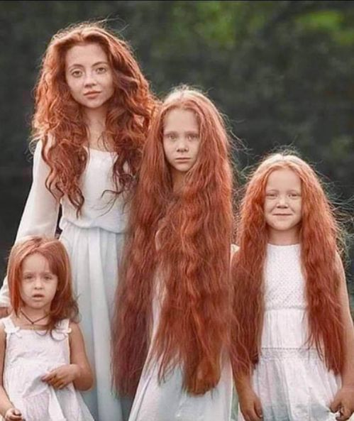 Red Haired Scotland people