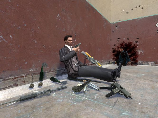 Max Payne In Garry's Mod