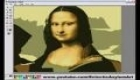 mona lisa v paint-u