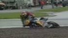 Moto GP crashes