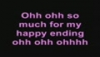 My happy ending  with lyrics  - Avril Lavigne
