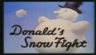 PELEA EN LA NIEVE: DISNEY PATO DONALD - SNOW FIGHT SPANISH