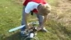 RC Helicopter Crash Funny !!!