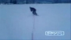 rope snowboarding