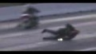 Suzuki Hayabusa drag racing crash